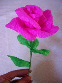 Roses Out Of Tissue Paper - tissue paper roses on crepe paper roses crepe
