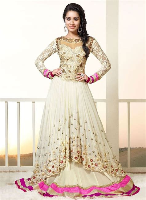 white lehenga anarkali suits dressanarkali