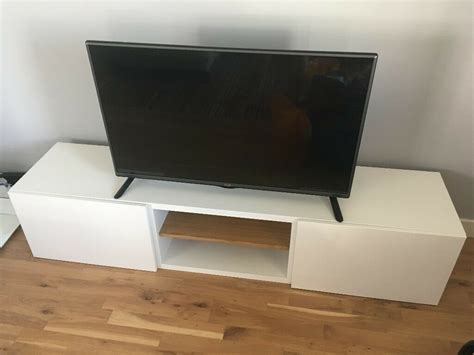 besta ikea tv stand bench  reading berkshire gumtree
