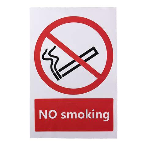 no smoking sign arch outdoor country decor no smoking prohibition sign sticker 100 150mm alex nld