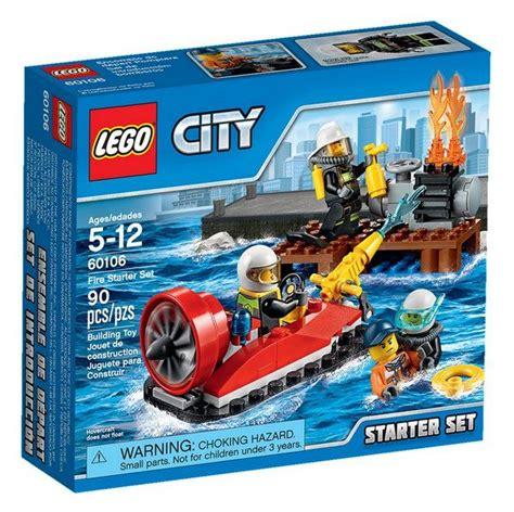 Lego City 60106 Starter Set lego city 2016 the official set boxes i brick city