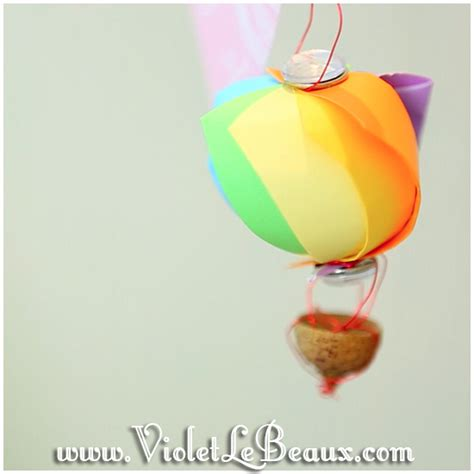 Air Balloon Origami - pin origami air balloon easy on