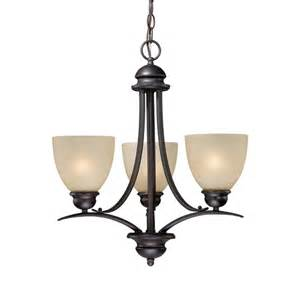 shop cascadia lighting avalon 3 light burnished bronze