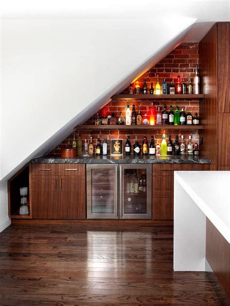 bar  stairs houzz