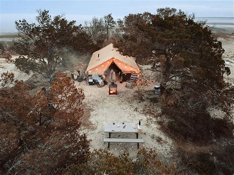glamping on little raccoon key: georgia's cutest private