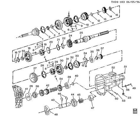 book repair manual 1997 chevrolet venture transmission control 5 speed manual transmission