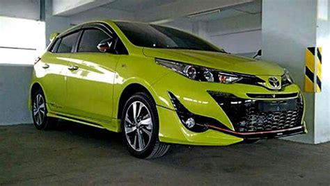 Lu Depan Mobil Yaris Tilan Toyota Yaris 2018 Mirip Dengan Wajah Joker Musuh