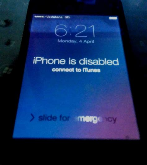 iphone disabled connect to itunes resolved quot iphone is disabled connect to itunes quot after forgetting passcode