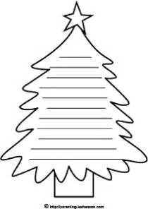 christmas tree writing paper new calendar template site