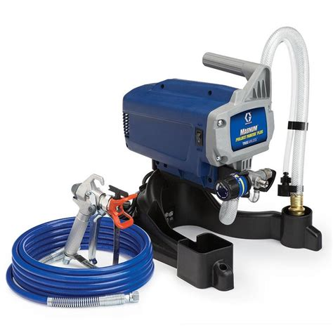 spray painter graco shop graco 0 375 hp stationary airless paint sprayer at