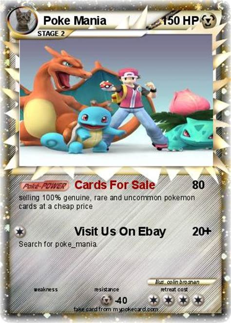 Gift Card Sles - pok 233 mon poke mania cards for sale my pokemon card