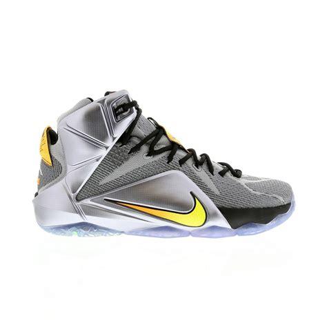 chaussure de basket nike lebron 12 homme grise noir chaussures nike pas chere