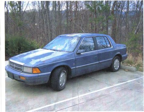 1992 dodge spirit bluestar92 s 1992 dodge spirit in rogersville tn
