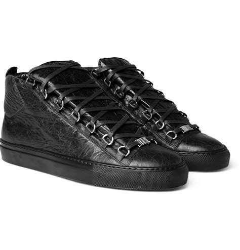 balenciaga sneakers balenciaga leather mid top sneakers sneaker cabinet