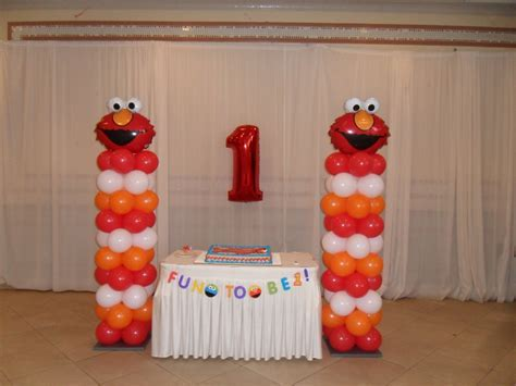 ELMO PARTY 2   PARTY DECORATIONS BY TERESA