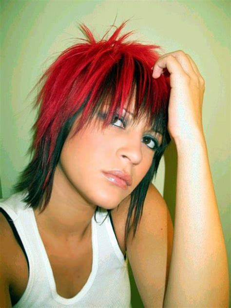 rocker shag hairstyles pictures rocker hairstyles beautiful hairstyles