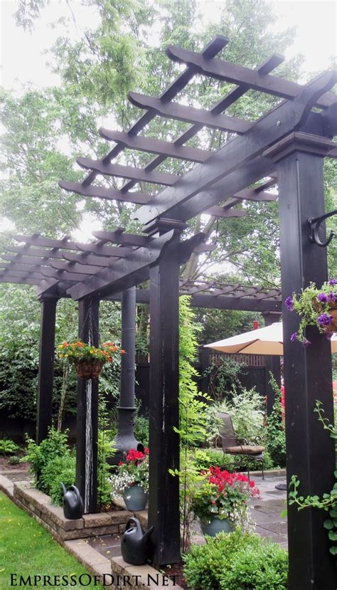 patio arbor plans 25 best ideas about arbors trellis on garden