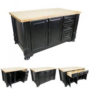 Black Distressed Kitchen Island Kitchen Island Distressed Black Milanese Isl05 Dbk