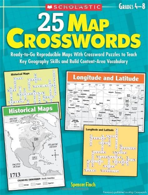 25 map crosswords ready to go reproducible maps with