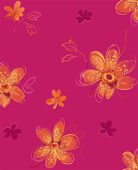 wallpaper pink and orange candice olson pink and orange bohemian wallpaper
