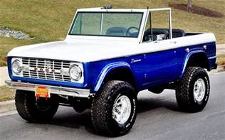 Ford Broncos The Past And Future Era Of Ford Bronco Ebay Motors