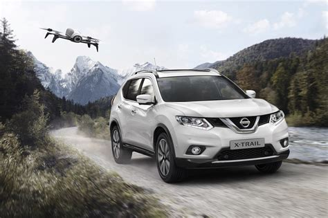nissan cars nissan x trail x scape has drone to film your active