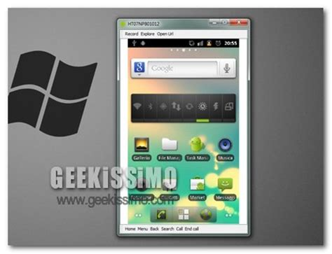 android screencast android screencast controllo remoto di android sul pc geekissimo