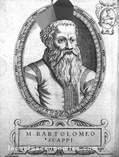 Bartolomeo Scappi il cuoco col cappello da cardinale