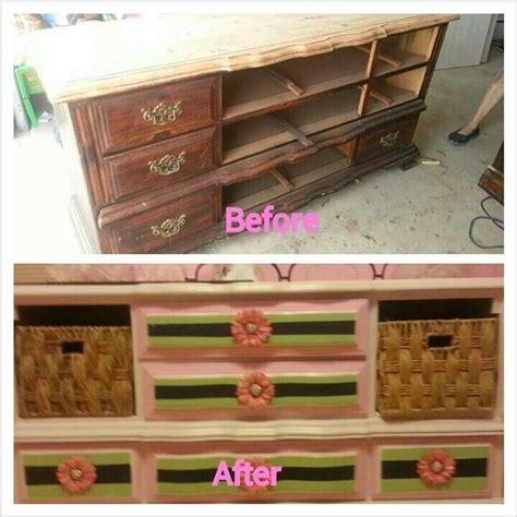 Refurbished Dresser Ideas by Nursery Refurbished Furniture Craft Ideas