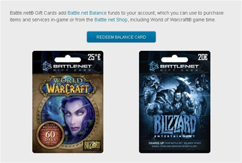 Battle Net Balance Gift Card - wtt legit eu battle net 174 gift card blizzard store mounts pets trade for gold