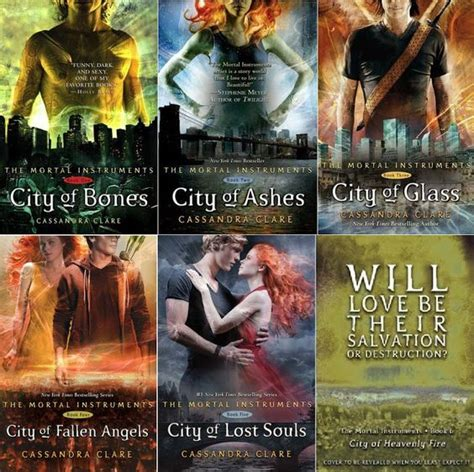 Novel City Of Heavenly Book Six series review the mortal instruments by clare book 1 city of bones book 2 city of