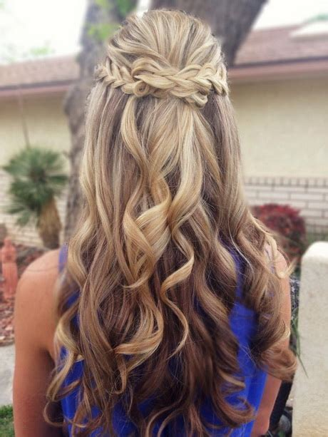 prom hairstyles down back view prom hairstyles down 2016