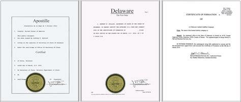 Certified Copies Of Documents certified copies of corporate documents