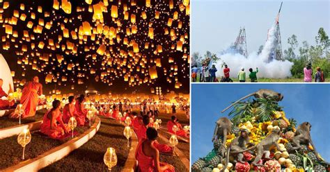 thailand festivals cultures traditions