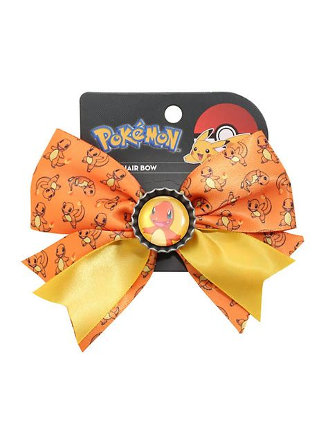 7 Accessories By Loungefly by Loungefly Charmander Cheer Hair Bow Topic