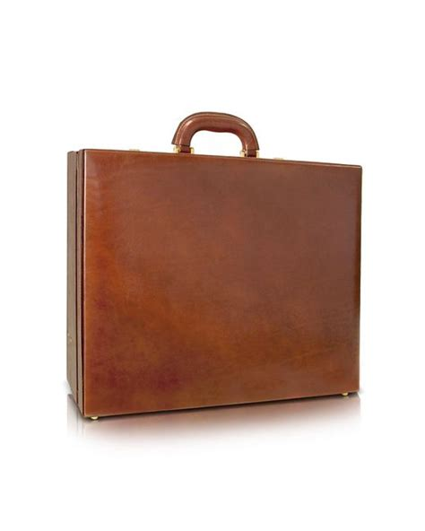 lyst chiarugi s handmade brown leather attache