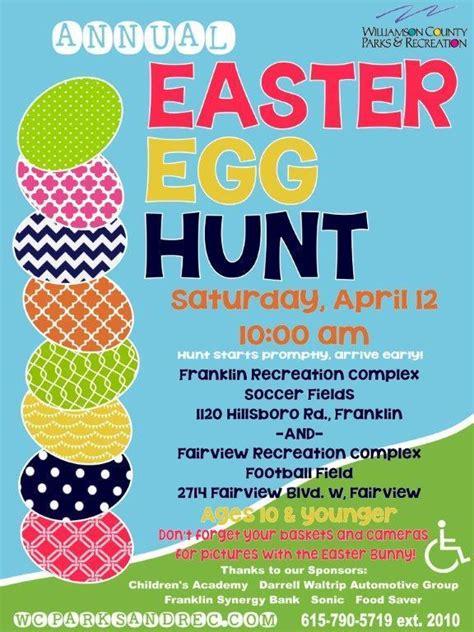 easter egg hunt template free free community egg hunts