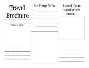 travel brochure template reading around