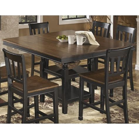 owingsville extendable counter height dining table