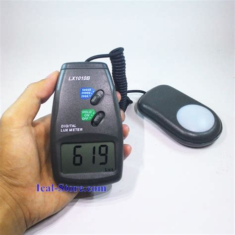 Best Seller Alat Ukur Intensitas Cahaya Meter meter digital lx1010b ukur intensitas cahaya ical store ical store