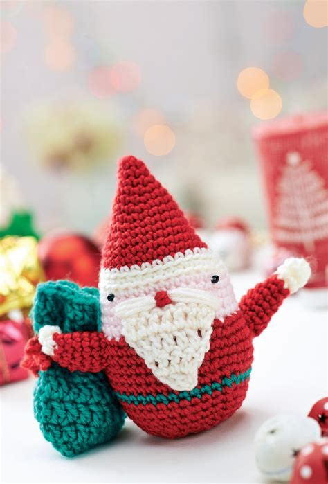 pattern for father christmas hat crochet father christmas toy crochet pattern