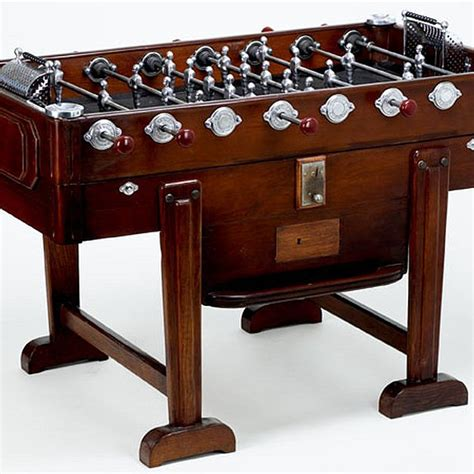 Vintage Foosball Table by Antique Foosball Tables Collector S Items