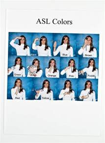 asl colors asl curriculum every you need to learn american sign