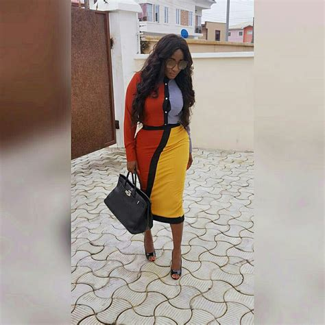 Posh Steps Out In A Sack by Ini Edo Looks As She Steps Out In Style Photos