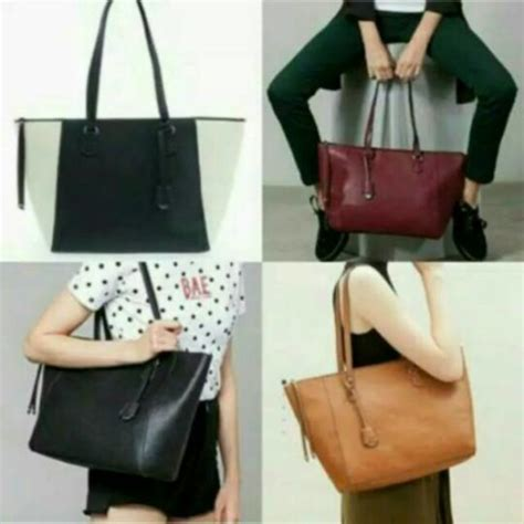 Stradivarius Tote Bag by Jual Tas Stradivarius Tote Bag Original Murah Harga