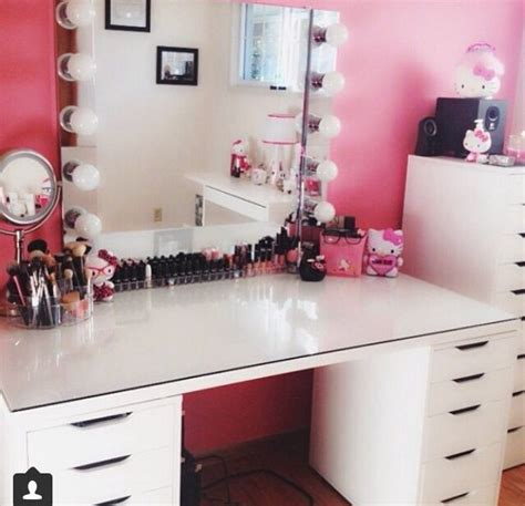Makeup Vanities by Diy Makeup Vanity Storage Organization Ideas