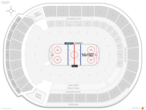 nationwide blue jackets seating chart nationwide arena seating chart rows nationwide arena
