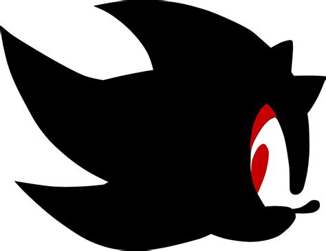Sonic The Hedgehog Wall Stickers quot shadow the hedgehog silhouette quot stickers by aritzi