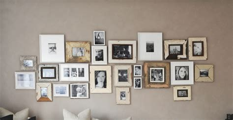 fotocollage an der wand bilderrahmen wand get cheap familie wand collage
