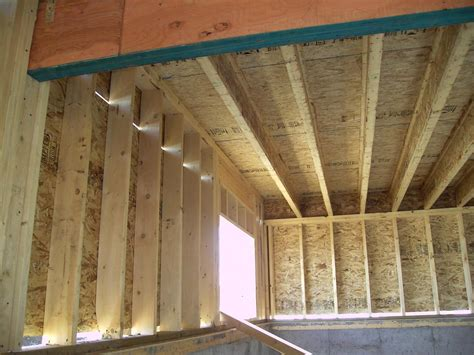 framed wall walls framed to floor ply framing contractor talk